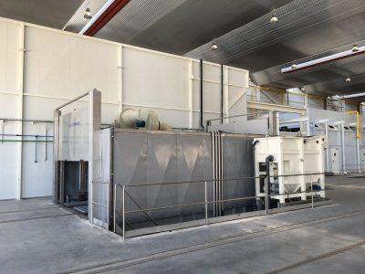 Bogie Washing Plant