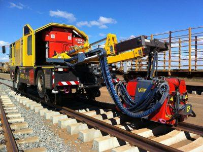 Rail-Road Electric Welding Truck